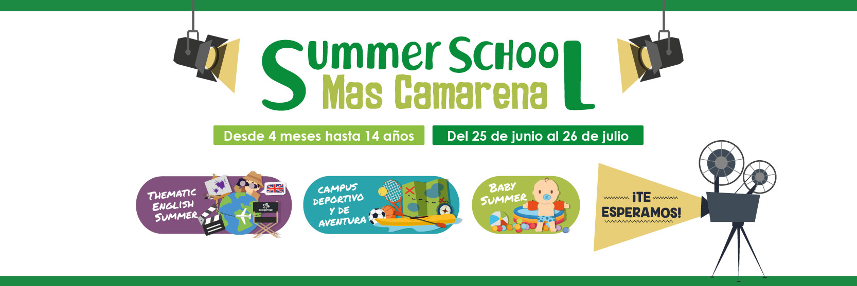 Slider Summer School Mas Camarena 2019